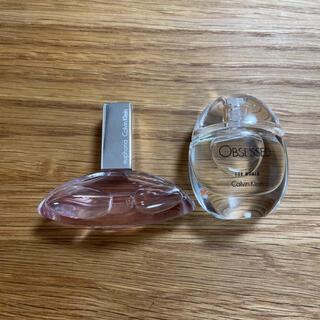 カルバンクライン(Calvin Klein)のカルバンクライン ミニ香水 二個セット(香水(女性用))