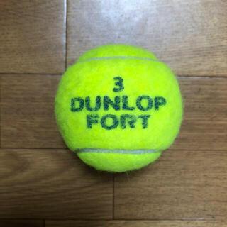 ダンロップ(DUNLOP)のダンロップテニスボール 1個    送料無料(ボール)
