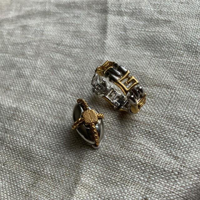GIVENCHY(ジバンシィ)のNo575 Givenchy 70-80's vintage イヤリング レディースのアクセサリー(イヤリング)の商品写真