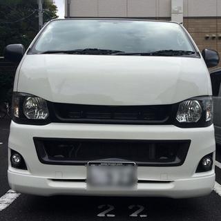 トヨタ - M-techno ハイエース3型ナローサイズ カーボン製バンパーセンターダクト