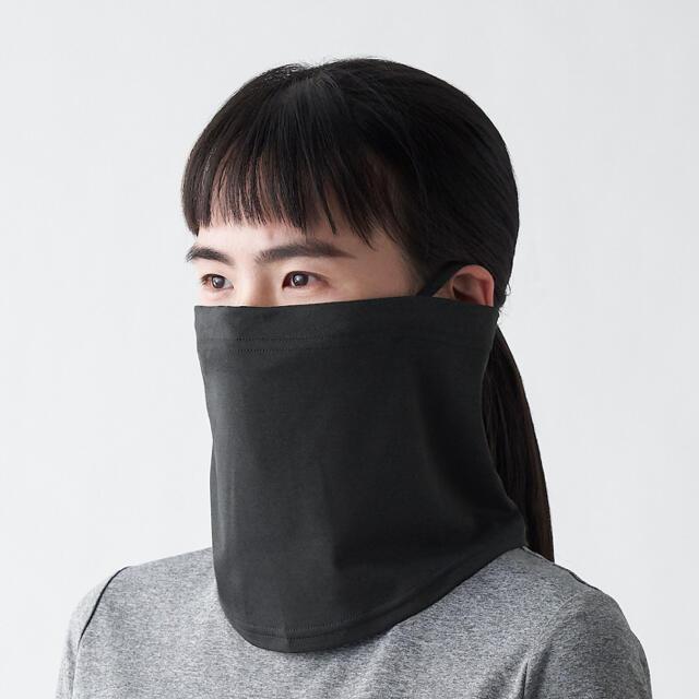 MUJI (無印良品)(ムジルシリョウヒン)の無印 吸汗速乾UVカット ネックゲイター 22×28cm コスメ/美容のボディケア(日焼け止め/サンオイル)の商品写真