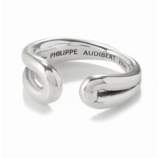 フィリップオーディベール(Philippe Audibert)の新品 PHILIPPE AUDIBERT HENKEI KNOT リング(リング(指輪))