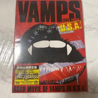 ラルクアンシエル(L'Arc~en~Ciel)のVAMPS LIVE 2009 U.S.A.(初回受注限定生産盤) DVD(ミュージック)