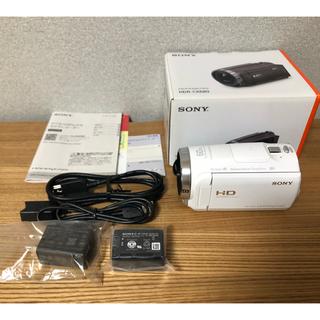 SONY - CX680 Sony ホワイト ビデオカメラ 展示品 メーカー保証有 送料込