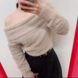 ノエラ(Noela)の定価¥8,424 RD♡フェレットライクオフショルニット(ニット/セーター)