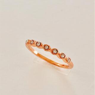 エイミーイストワール(eimy istoire)のシンプル ライン リング 指輪 韓国(リング(指輪))