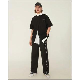 ヨウジヤマモト(Yohji Yamamoto)のADERERROR Thunder Track Trousers(スラックス)