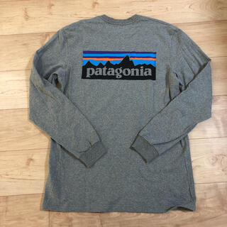 patagonia - パタゴニア バックプリント ロンT