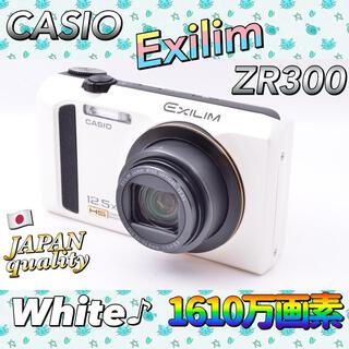 カシオ(CASIO)の秋【SDカード付】エクシリム カシオ  EXILIM EX-ZR300(コンパクトデジタルカメラ)