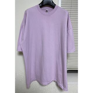 ロサンゼルスアパレル 6.5オンス ガーメントダイ クルーネックTシャツ ピンク(Tシャツ/カットソー(半袖/袖なし))