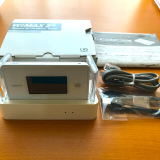 WiMAX 2+ WX06 クレードル(PC周辺機器)