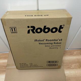 アイロボット(iRobot)のiRobot アイロボット ロボット掃除機 ルンバ e5 ブラック 1年保証付き(掃除機)