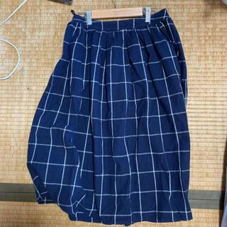 サマンサモスモス(SM2)のチェックスカート(ひざ丈スカート)