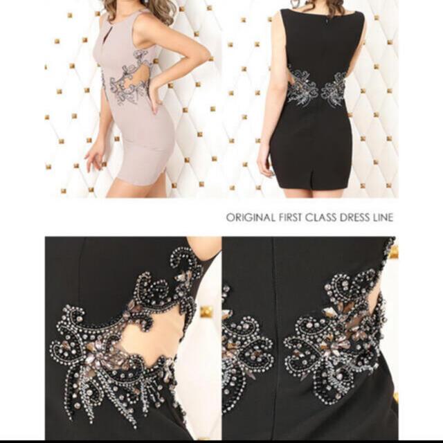 AngelR(エンジェルアール)のエンジェルアール シアービジュー タイトミニドレス レディースのフォーマル/ドレス(ミニドレス)の商品写真