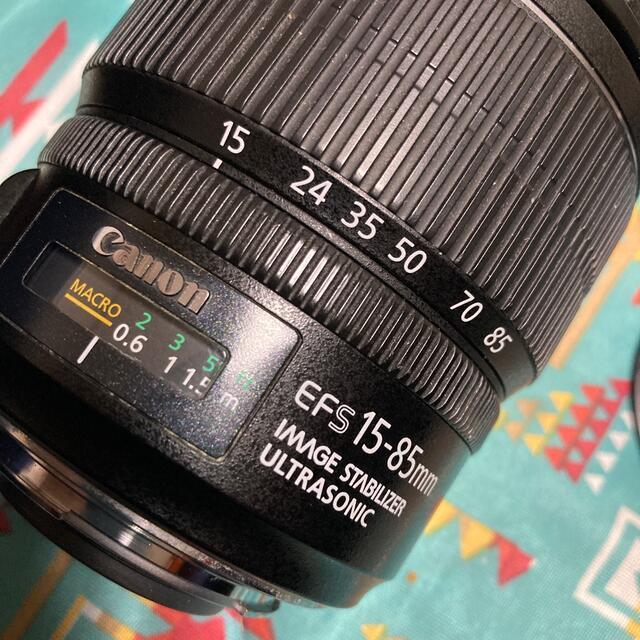Canon(キヤノン)のCanon EF-S15-85F3.5-5.6 IS USM スマホ/家電/カメラのカメラ(レンズ(ズーム))の商品写真