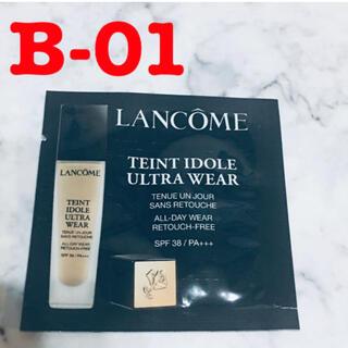LANCOME - ランコム タンイドル ウルトラウェア リキッド B-01 サンプル