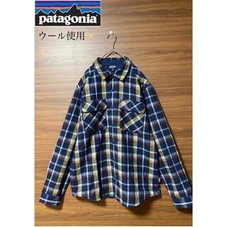 patagonia - patagonia(パタゴニア)ウール使用!チェックシャツ!