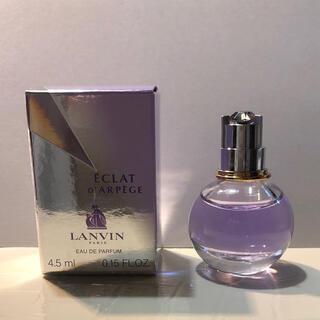 ランバン(LANVIN)のランバン エクラドゥアルページュ 4.5ml 香水(香水(女性用))