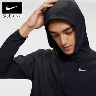 NIKE - セール!新品ナイキ メンズ ウーブン ランニングジャケット CU5354 黒 L