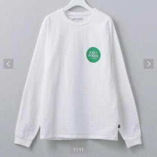ビューティアンドユースユナイテッドアローズ(BEAUTY&YOUTH UNITED ARROWS)の新品未使用❣️SLOPPY T SHIRT(Tシャツ(長袖/七分))