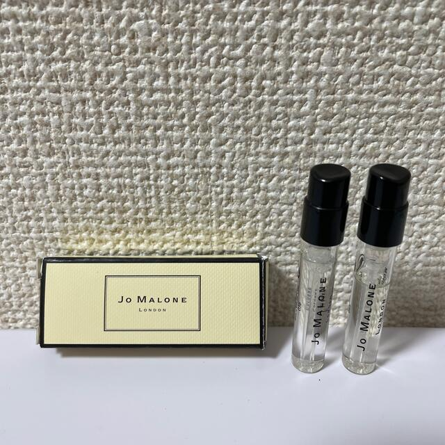 Jo Malone(ジョーマローン)のジョーマローン 「ウッドセージ&シーソルト/オレンジブロッサム」サンプル コスメ/美容の香水(ユニセックス)の商品写真