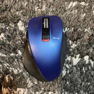 ELECOM - ELECOM マウス 握りの極み ブルー