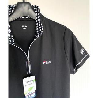 フィラ(FILA)の新品 FILA ハーフジップ  Tシャツ 半袖 ゴルフ テニス スポーツウェア(ウェア)