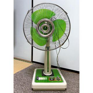 SANYO - 現役!レトロな扇風機⭐︎SANYO製扇風機⭐︎グリーン