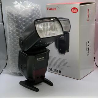 キヤノン(Canon)のCanon スピードライト 580EX Ⅱ(ストロボ/照明)