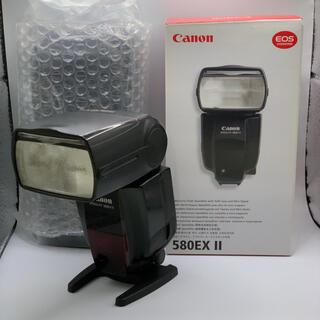 キヤノン(Canon)の‼️鯖の味噌煮缶様専用‼️Canon スピードライト580EX Ⅱ(ストロボ/照明)