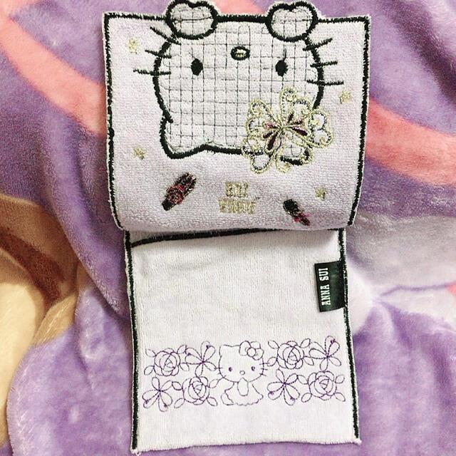 ANNA SUI(アナスイ)の新品アナスイ キティちゃん タオルポーチ レディースのファッション小物(ハンカチ)の商品写真