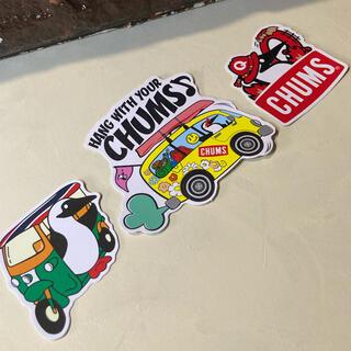 チャムス(CHUMS)のCHUMS Sticker set ⬜︎ #cs101(その他)