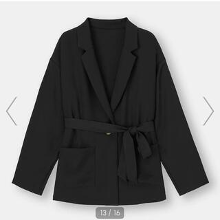 ジーユー(GU)のジーユー GU オーバーサイズシャツジャケット(テーラードジャケット)