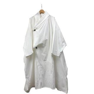 サンシー(SUNSEA)の求 Omar afridi 19aw draped layer coat(ステンカラーコート)