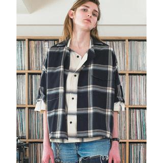 サンシー(SUNSEA)のsunsea 17ss  チェックシャツ(シャツ)