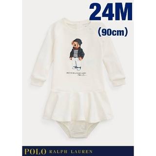 POLO RALPH LAUREN - 【Ralph Lauren】ポロベア コットン ワンピース