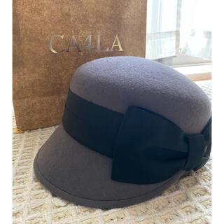 カシラ(CA4LA)のカシラ 帽子(キャスケット)