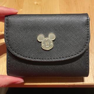 ミッキーマウス(ミッキーマウス)の【未使用】NATURAL BEAUTY BASIC ミッキー ミニ財布(財布)