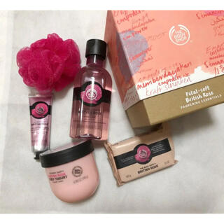 THE BODY SHOP - THE BODY SHOP ブリティッシュローズ ギフトセット