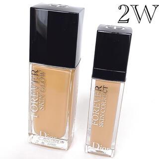 Christian Dior - ディオールスキン フォーエヴァー フルイド グロウ &コンシーラーセット