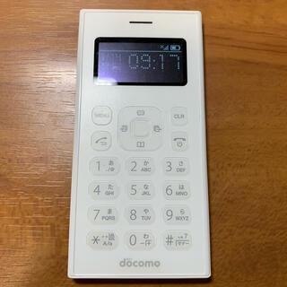 エヌティティドコモ(NTTdocomo)のdocomo ワンナンバーフォン 01(携帯電話本体)