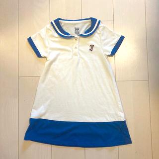 Design Tshirts Store graniph - グラニフ 110㎝ セーラー ワンピース