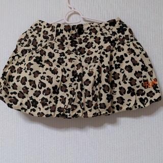 ロデオクラウンズワイドボウル(RODEO CROWNS WIDE BOWL)のRODEOヒョウ柄バルーンスカート☆(ミニスカート)
