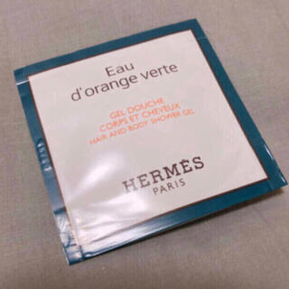 エルメス(Hermes)のHERMES オー ドランジュ ヴェルト ヘア&ボディ シャワージェル 7ml(ボディソープ/石鹸)
