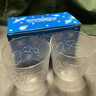 サンリオ(サンリオ)の【新品・未使用】ハローキティ レリーフグラス(2個入り)(グラス/カップ)