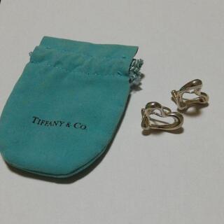 ティファニー(Tiffany & Co.)の359 ティファニー sv925 シルバー イヤリング オープンハート(イヤリング)