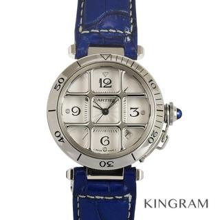Cartier - カルティエ パシャ38 グリッド  メンズ腕時計