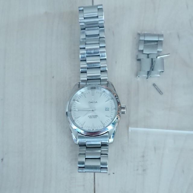 OMEGA(オメガ)のオメガシーマスターアクアテラクォーツ メンズの時計(腕時計(アナログ))の商品写真