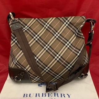 バーバリーブルーレーベル(BURBERRY BLUE LABEL)のBurberry☆ショルダーバッグ☆美品(ショルダーバッグ)