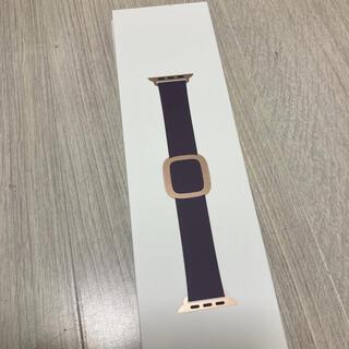 アップル(Apple)のアップルウォッチ バンドモダンバックル 40mm/S MWRJ2FE/A  (その他)